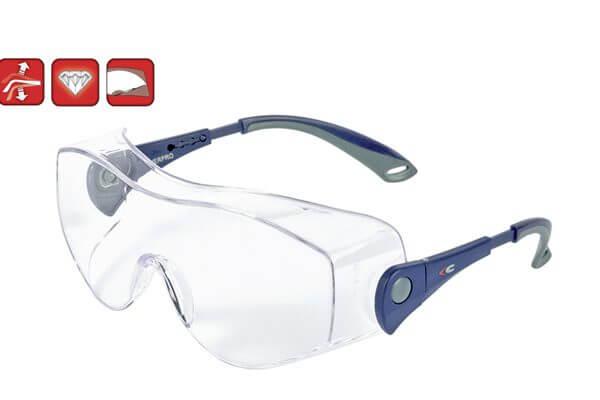 Cofra – Overpro Gözlük Ürün Kodu : E012 – B100