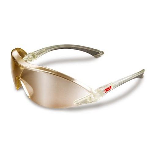 3M – 2844 Güvenlik Gözlükleri, Çizilme ve Buğu Önleyici Kaplama, Aynalı Mercek