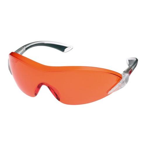 3M – 2846 Güvenlik Gözlükleri, Çizilme ve Buğu Önleyici Kaplama, Turuncu Mercek