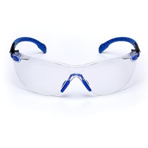 3M – Solus – 1000 Serisi Güvenlik Gözlükleri, Mavi/Siyah Sap, Scotchgard Buğu Önleyici Kaplama, S1101SGAFKT-EU