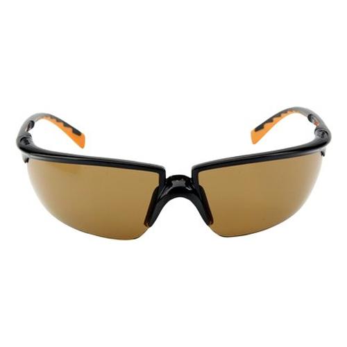 3M – Solus – Güvenlik Gözlükleri, Çizilme ve Buğu Önleyici Kaplama, Bronz Mercek, 71505-00003M