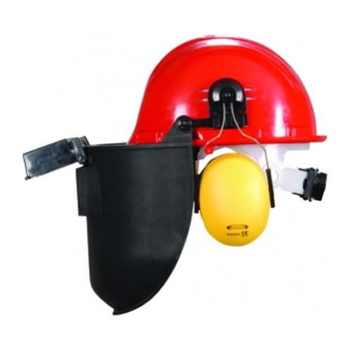 Essafe Ayarlı Baret + Kulaklık + Slotlu Kaynak Maskesi – GE 1280-5