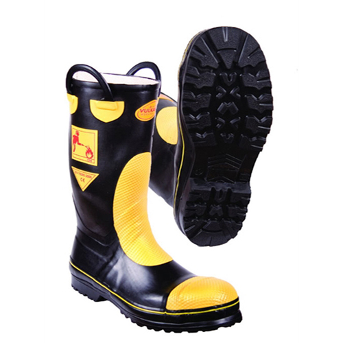 F2A Sarı-Siyah İtfaiyeci Çizmesi