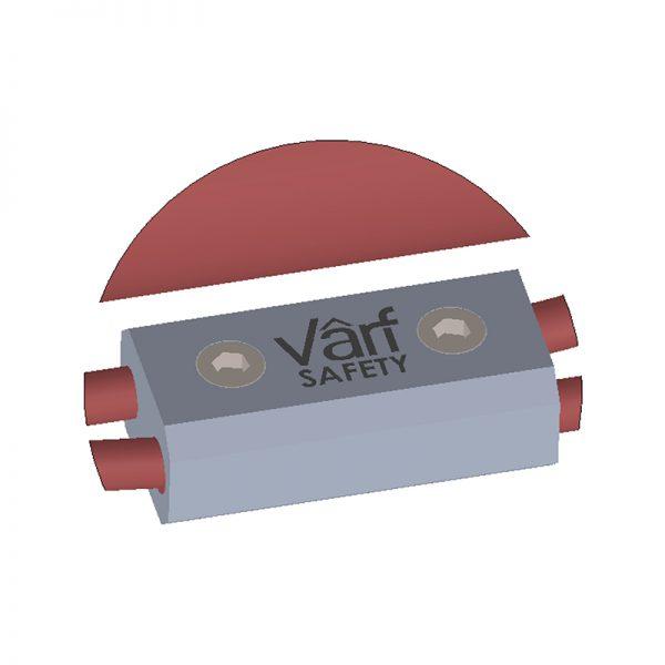 Varf – V-100 Kalıcı Yatay Yaşam Hattı – İkinci Emniyet Braketi